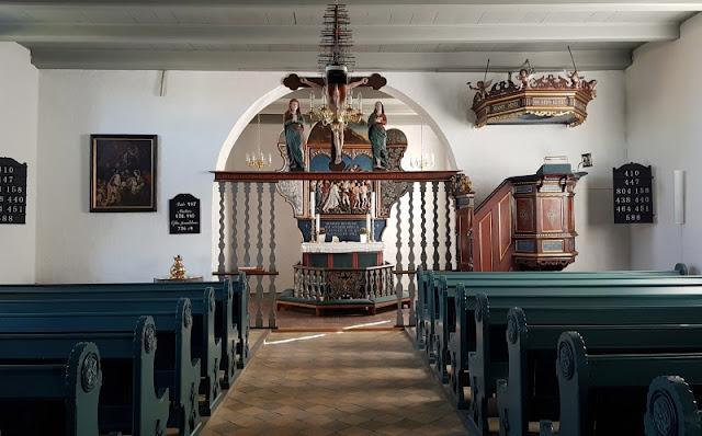 Ein Ausflug nach Kegnæs. Die Kirche in Sonderby ist eine der Attraktionen der Insel.