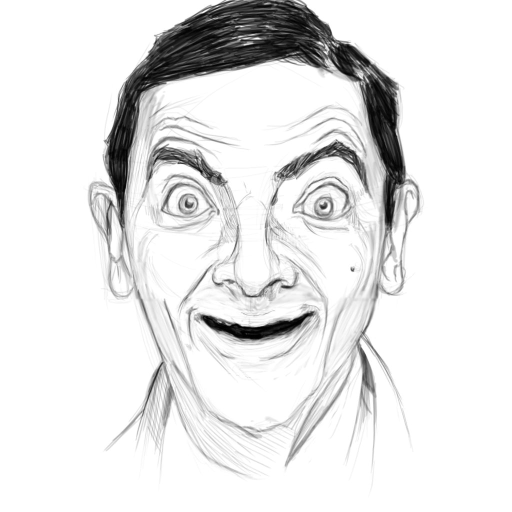 Volpe Art: MR. BEAN!!!