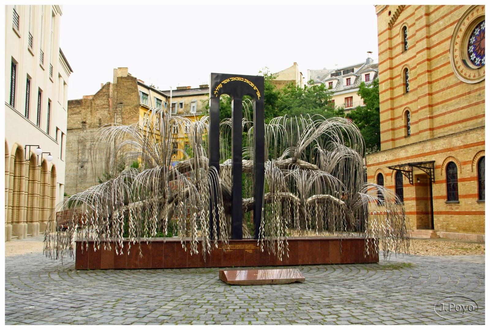 El árbol de la vida de la sinagoga de Budapest