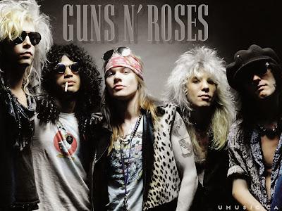 Daftar 10 Lagu Rock Terbaik Guns N' Roses