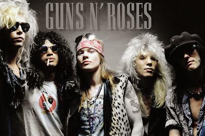 10 Lagu Guns N' Roses Terbaik dan Terpopuler yang Enak Didengar