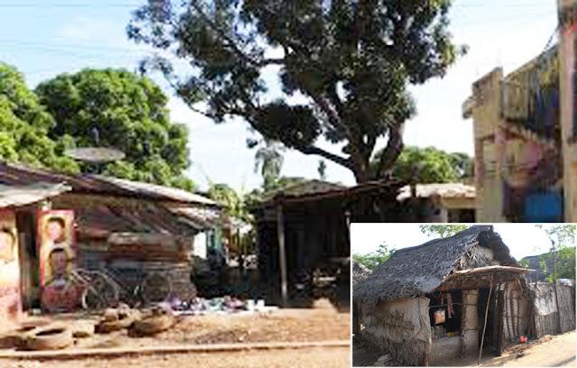 Foto Rumah Penduduk Negara India