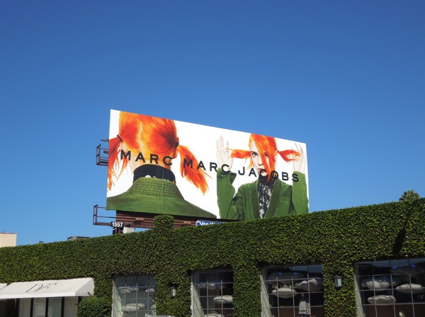 Marc by Marc Jacobs billboard