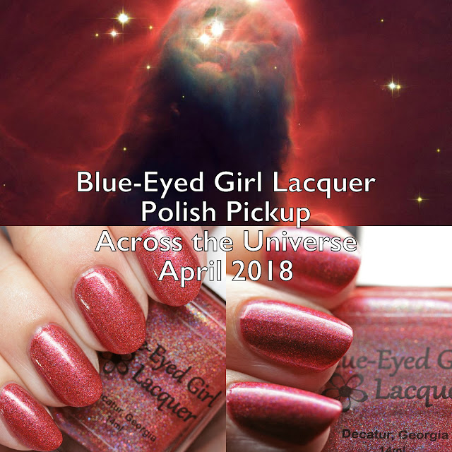 Blue-Eyed Girl Lacquer Polish Pickup Across the Universe April 2018