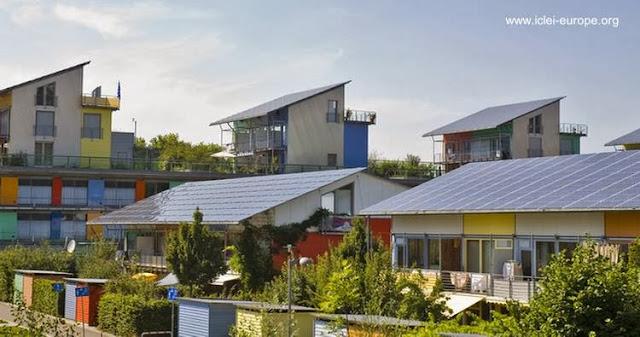 Eco villa en Freiburg, Alemania