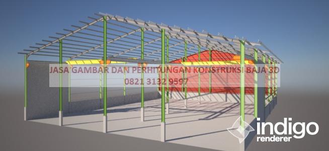 Konstruksi Baja Gudang Konstruksi Baja Indonesia
