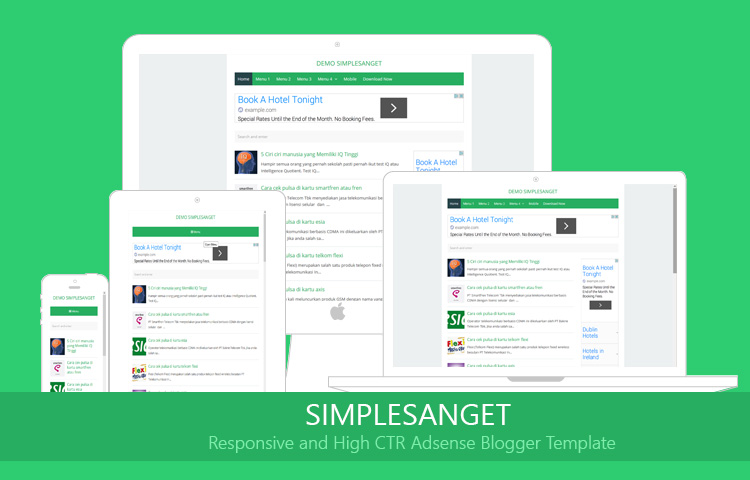 Simple sanget simple blogger template high ctr okey template simple sanget simple blogger template high ctr pronofoot35fo Images