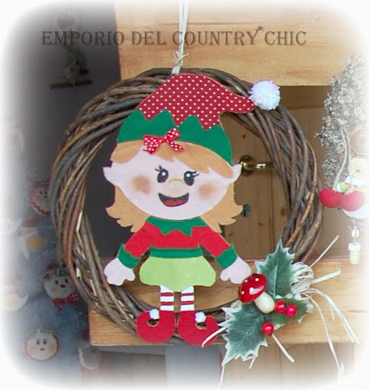 Piccolo Angolo Country: MISSIONE NATALE, PRIMA PARTE - LE GHIRLANDE!!!! CHRISTMAS MISSION THE FIRST PART! CHRISTMAS GARLANDS!