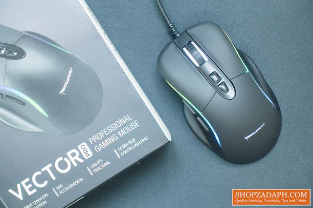 tecware vector pro rgb mouse