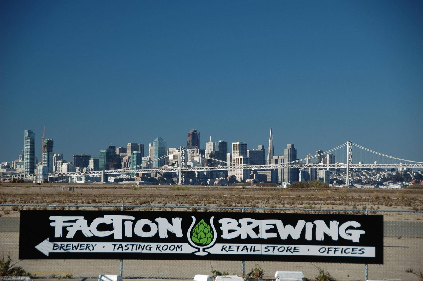 Faction Brewing View