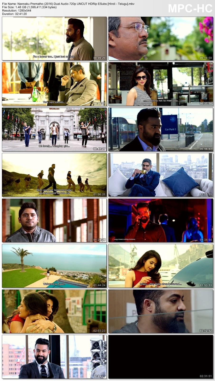 Nannaku Prematho (2016) Dual Audio 720p UNCUT HDRip ESubs [Hindi – Telugu] 1.5GB Desirehub