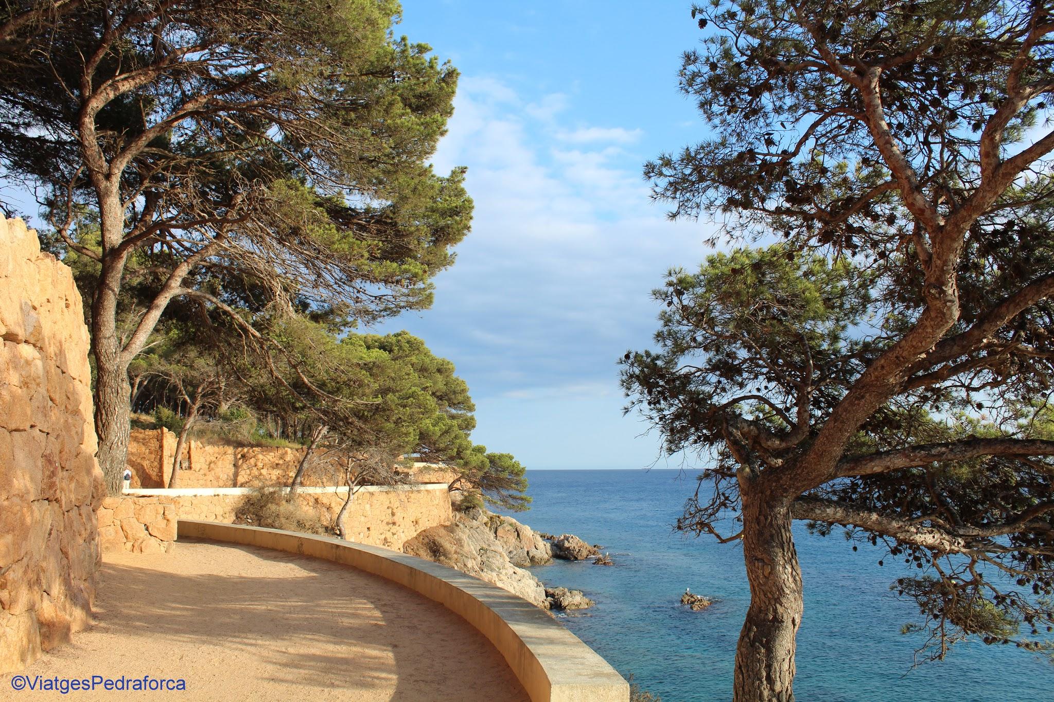 Senderisme, excursions fàcils per la Costa Brava, Baix Empordà,