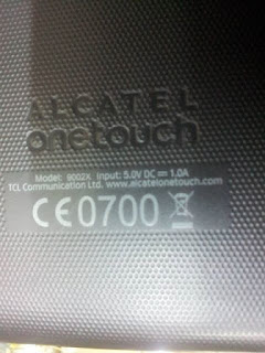alcatel one touch 9002x actualizar firmware