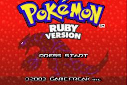 Pokemon Ruby The Prequel GBA Free Download