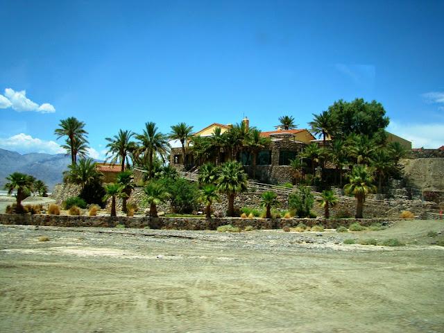 Oasis Death Valley California USA voyage