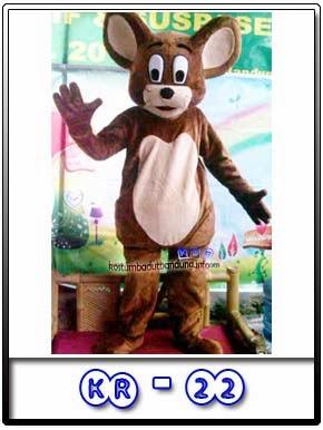 Kostum Badut Karakter Jerry Mouse Kr-22