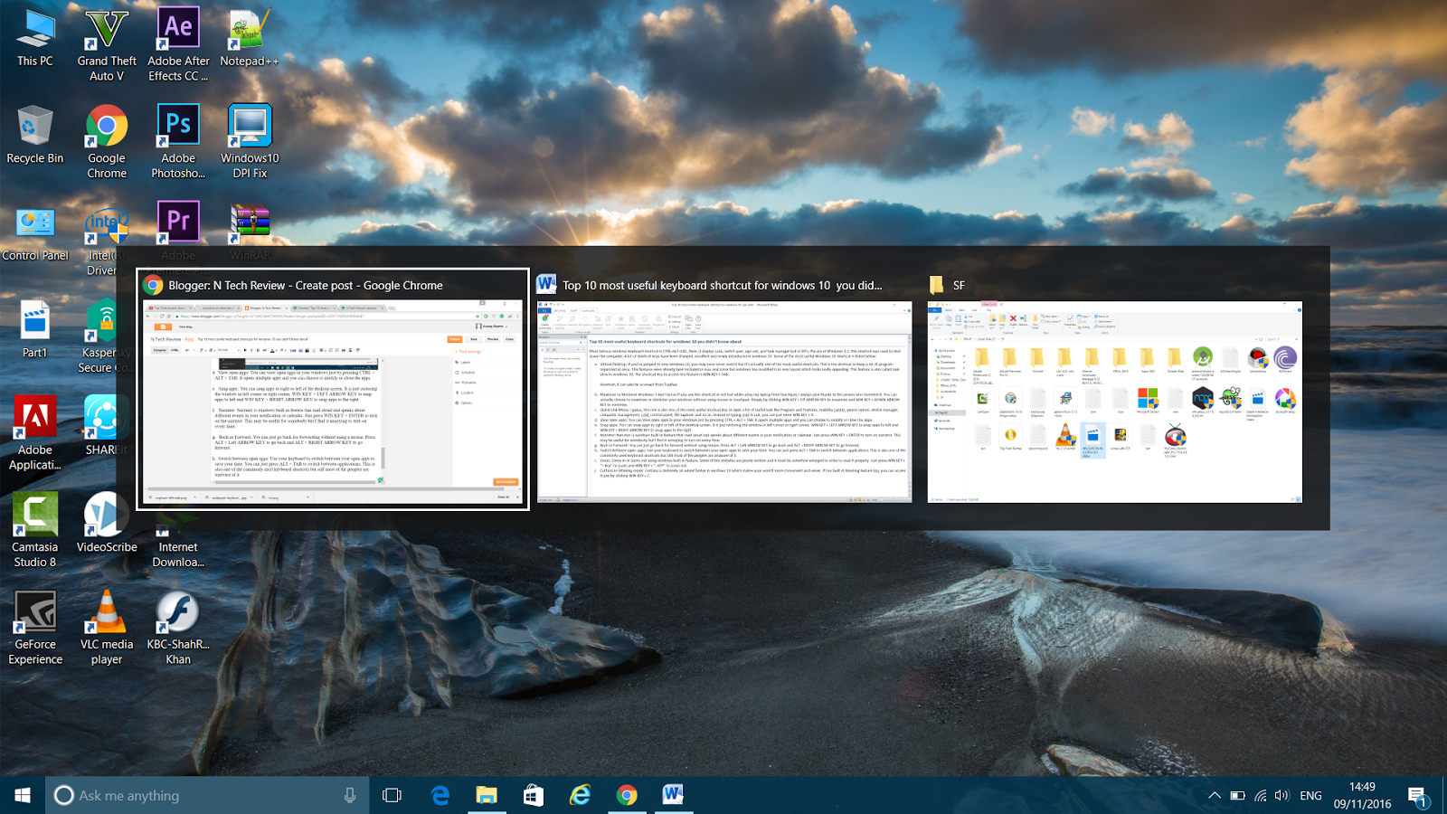 Top 10 most useful keyboard shortcuts for windows 10 you