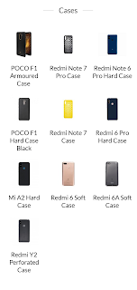xiaomi mobile phone cases