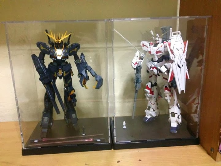 My Gundam Experience Display Case And Cabinet