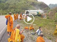 Azab Akibat Bunuh Muslim Rohingya, Para Biksu Budha di Myanmar Ini Alami Kecelakaan Hebat? Begini Kejadian Sebenarnya
