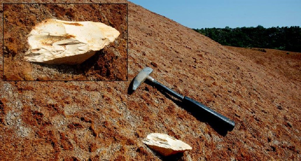 Stone tools at Greek site at least 206,000 years old