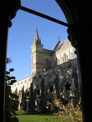 Salisbury Cathedral, Regency, England