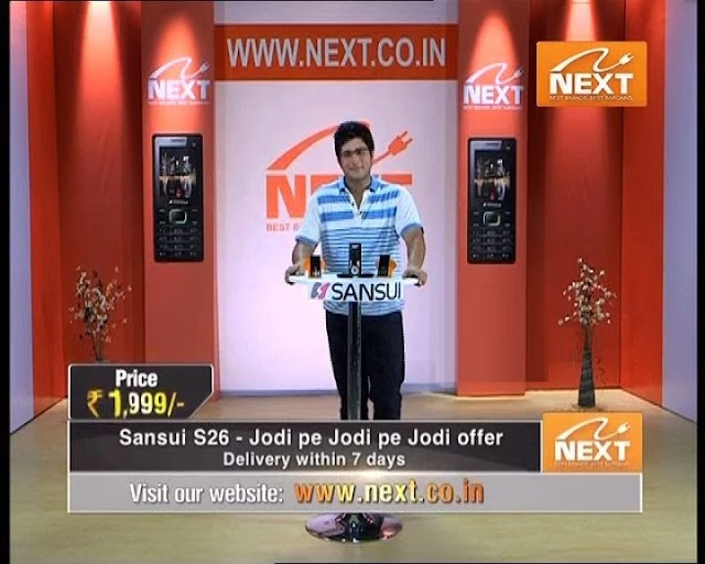 Next Shopping Channel Now Available on Videocon D2H
