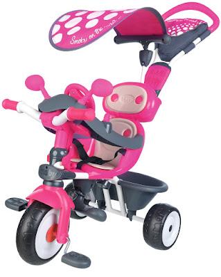 TOYS : JUGUETES - SMOBY Baby Driver Confort | Azul o Rosa Triciclo Evolutivo Adaptable 2016 | Comprar en Amazon España