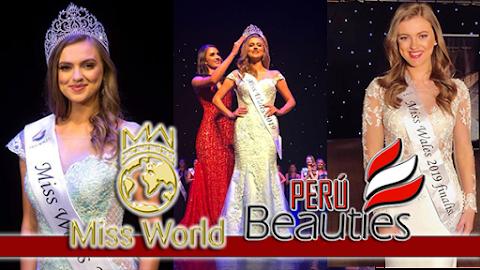 Gabriella Francesca Jukes es Miss Wales 2019