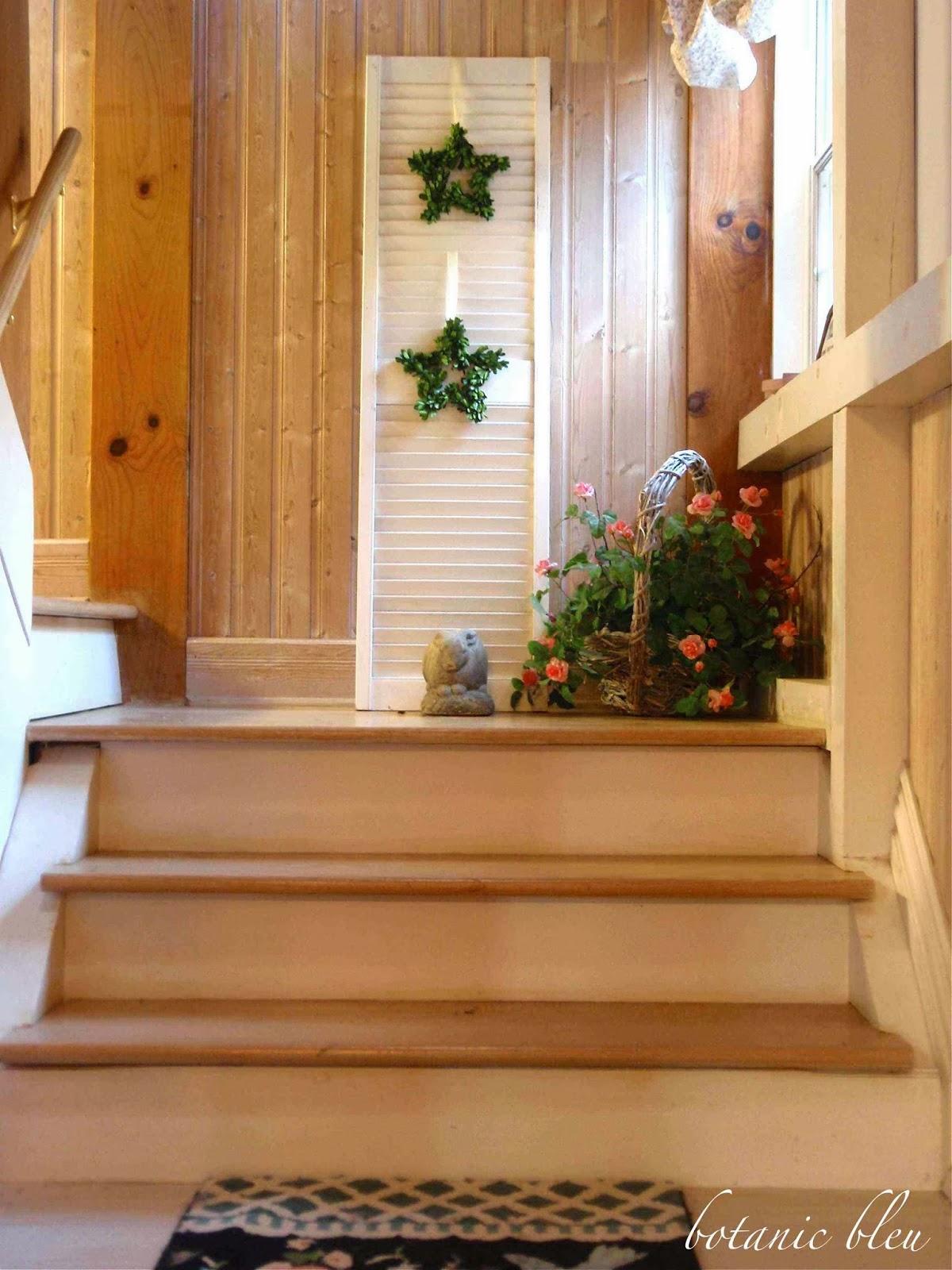 Botanic Bleu Stairwell Tour Dream House