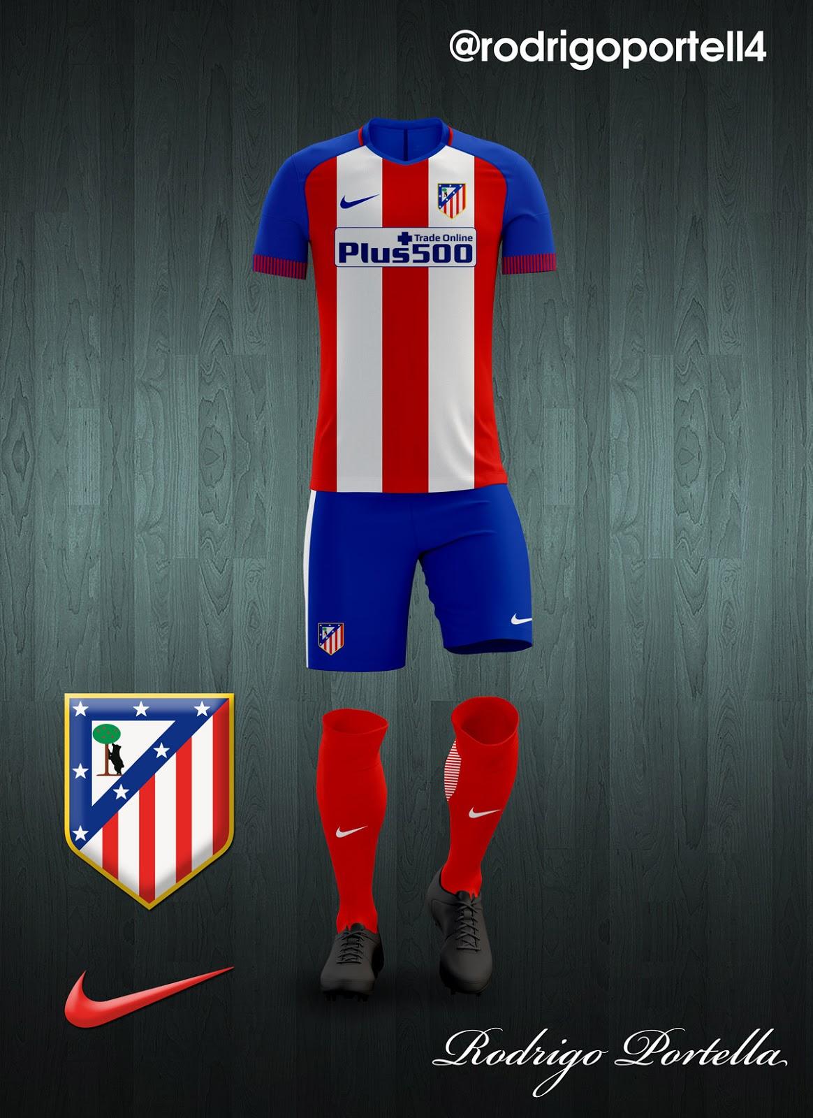 Kit Dls Atletico Madrid 2015 | atletico madrid kits 2016