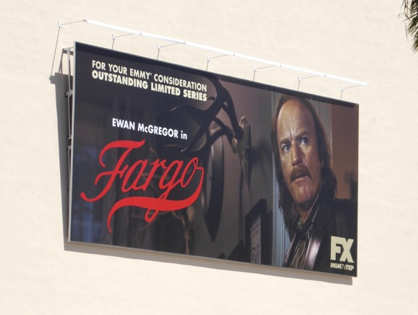 Ewan McGregor Fargo season 3 Emmy billboard