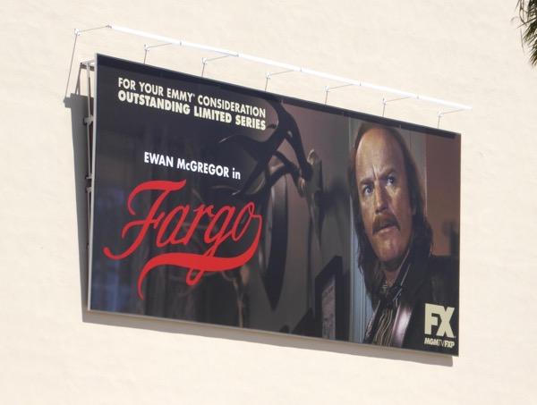 Ewan McGregor Fargo season 3 Emmy billboard