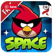 تطبيق Angry Birds Space