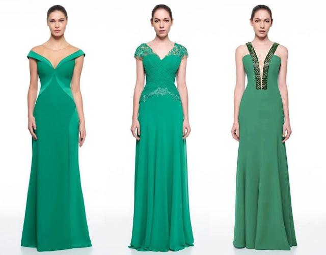 vestido de festa verde madrinha ou formanda