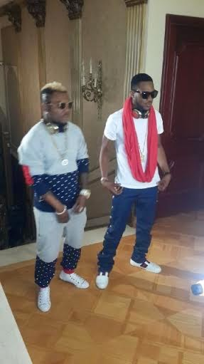 3 What? Oritsefemi shows off penis.