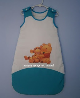 saco de dormir bebé winnie pooh
