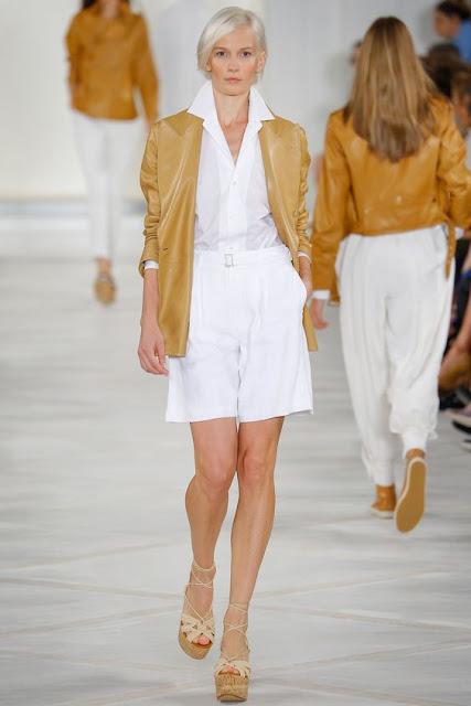 Proposta de look da coleção Ralph Lauren Primavera-verão 2016
