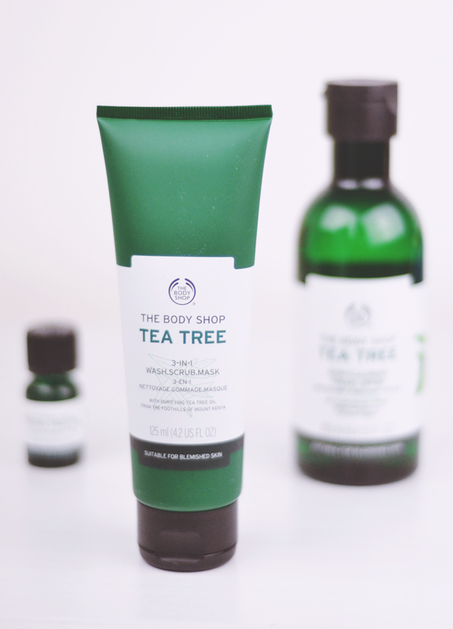 The Body Shop Tea Tree 3-in-1 Wash Scrub Mask Review