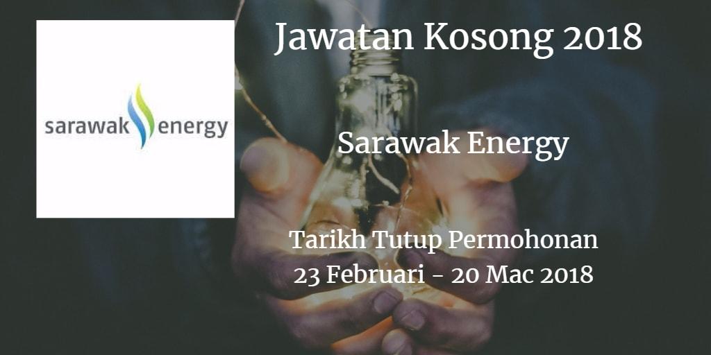 Jawatan Kosong Sarawak Energy 23 Februari - 20 Mac 2018