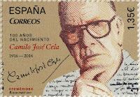 100 AÑOS DEL NACIMIENTO DE CAMILO JOSÉ CELA 1916-2016
