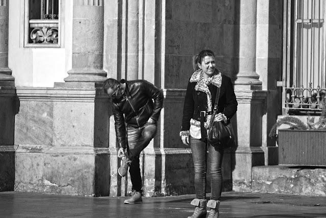 Fotografía Urbana Blanco y Negro Barcelona 2016
