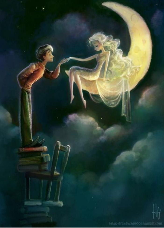 Resultado de imagem para amor surreal