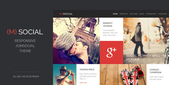 New Responsive Joomla Theme Download