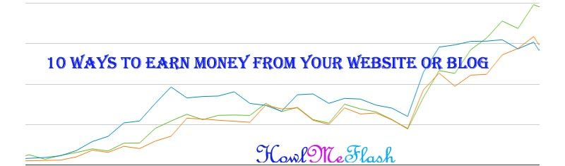 10 Ways to Earn Money from Your Website or Blog