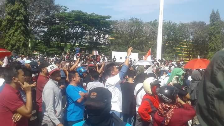 Penampakan Massa Deklarasi #2019GantiPresiden Makassar