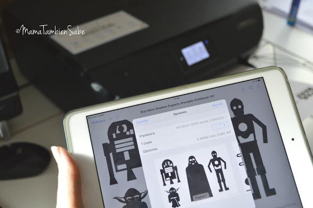 Impresión móvil desde iPad a HP Envy
