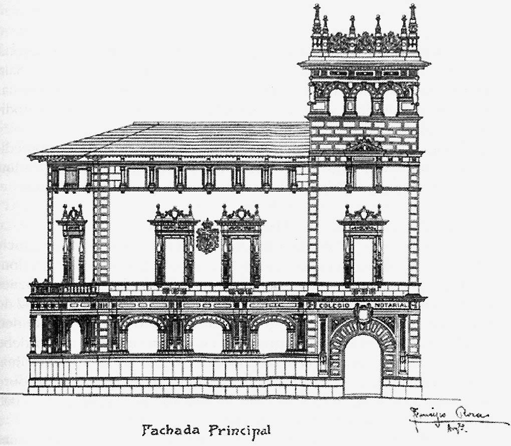 Fotos antiguas de mallorca el edificio del colegio de notarios de baleares - Colegio de notarios de barcelona ...