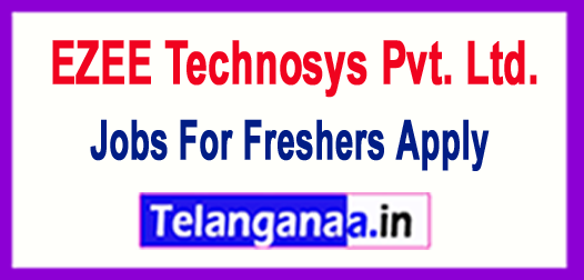 EZEE Technosys Pvt. Ltd. Recruitment 2018 Jobs For Freshers Apply