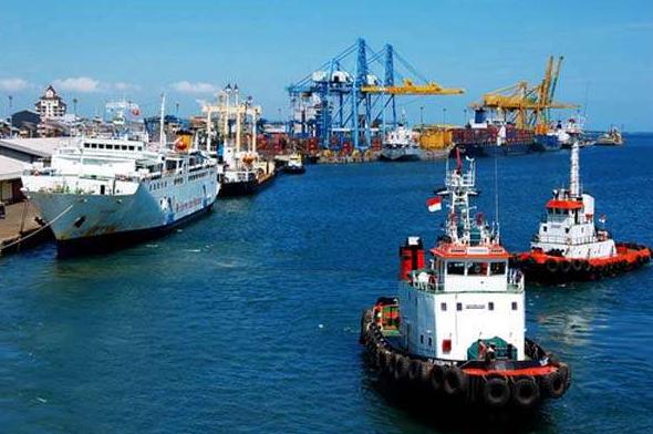 Progres Megaproyek Makassar New Port di Sulawesi Selatan Mencapai Sekitar 40 Per Sen